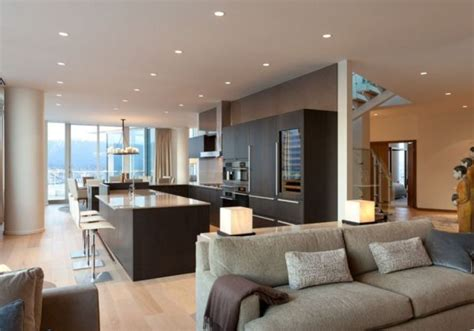 pretty modern penthouses  elevated standard living