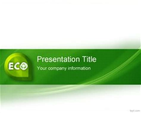 Eco Friendly Powerpoint Template Eco Friendly Ppt Templates Free