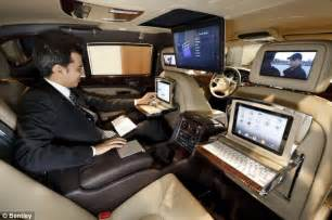 The Bentley Company Bentley Mulsanne Executive The Car With Six Screens So