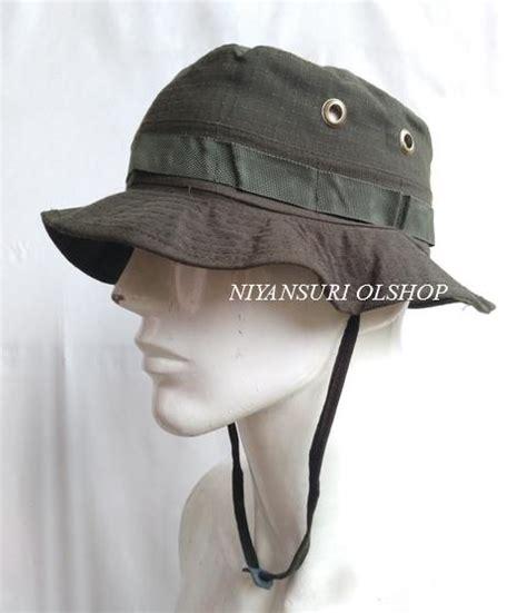 Topi Rimba Polos By Rumahnutrisi jual topi rimba hijau polos niyansuri
