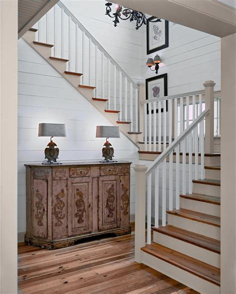 wood paneling ideas hall modern with glass iron railing imaginative white staircase rustic with wood paneling