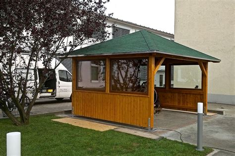 Pavillon Gross by Carports Balkone Vord 228 Cher Zimmerei Schreiber In