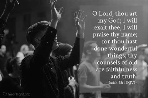isaiah  kjv todays verse  tuesday