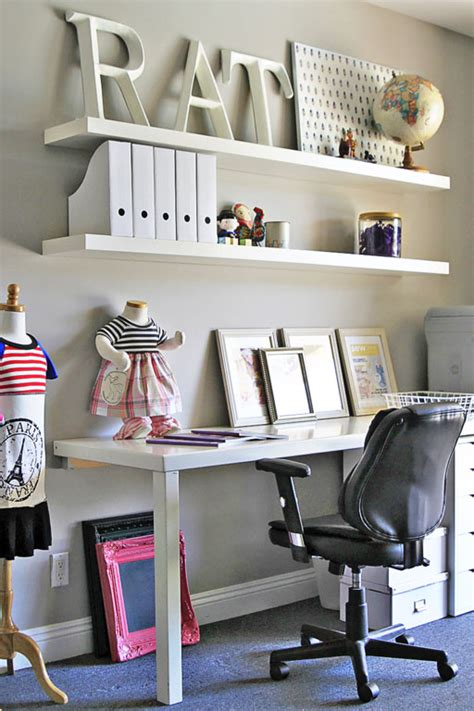 Shelves For Office Ideas The Casita Office Makeover