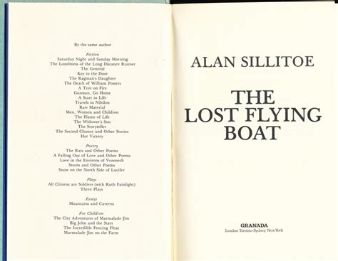 flying boat kenneth poolman the lost flying boat by alan sillitoe capt charles chic