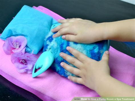 8 Spa Treatments by How To Give A Furby Boom A Spa Treatment 11 Steps With