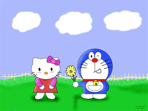 Mouse Laser Doraemon Hello hello x doraemon by lizengar on deviantart