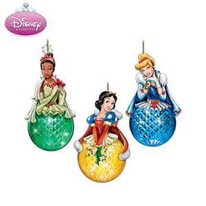 disney princess sparkling dreams christmas ornament set