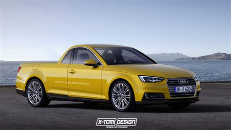 audi ute 2016 audi a4 embraces the pickup treatment looks like a