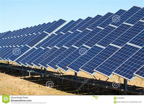solar panel electricians electric solar panel system stock photo image 61960682