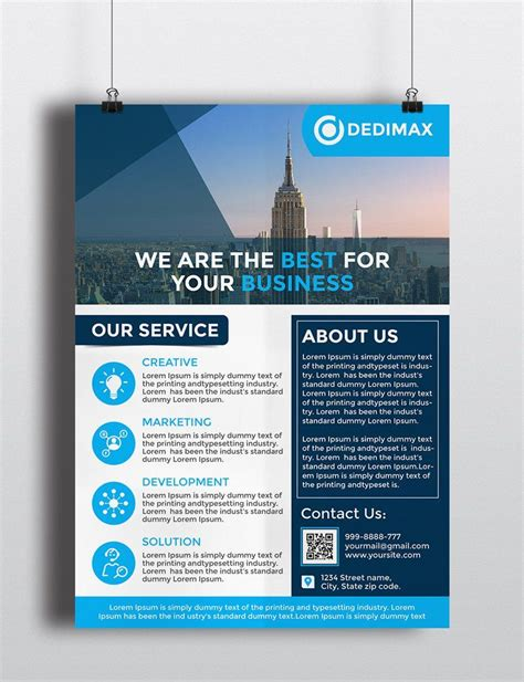 product flyer template free oyle kalakaari co