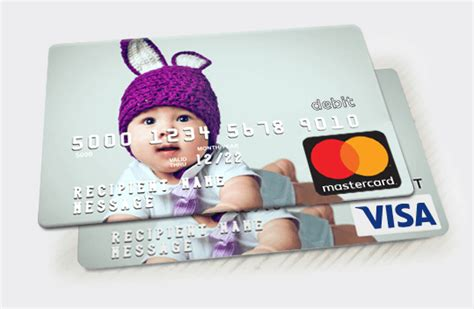 Customized Visa Gift Card - personalized gift cards make a gift card w your photo
