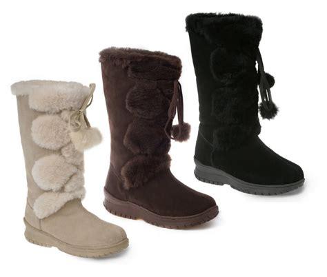 ozwear ugg pom pom long boots ebay