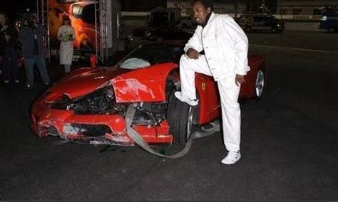 Eddie Griffin Crashes A Enzo by A Recipe For Disaster Rich And Their Luxury Cars