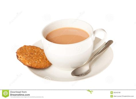Tea And Biscuits Royalty Free Stock Image   Image: 26242196
