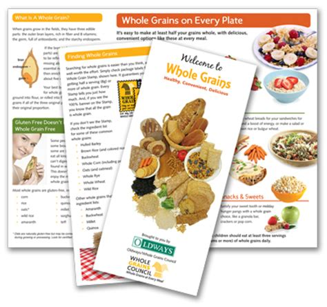 whole grains 101 whole grains 101 brochure oldways