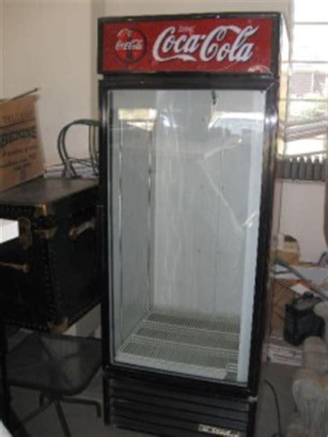 Coca Cola Glass Door Refrigerator Coca Cola True Gdm 10 One Glass Door Cooler Display Merchandiser Refrigerator Ebay