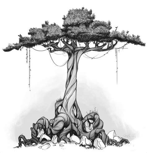 20 tree drawings jpg download