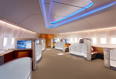 Boeing 747 Interior by Commercial Jetliner Manufacturer Boeing