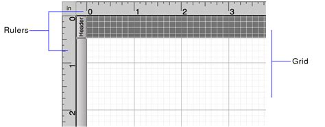 printable ruler grid using the rulers and grid