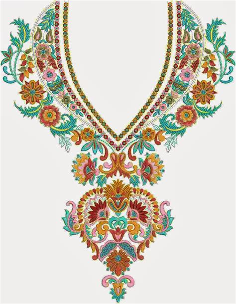 design embroidery online embdesigntube neck yoke gala embroidery designs of kameez