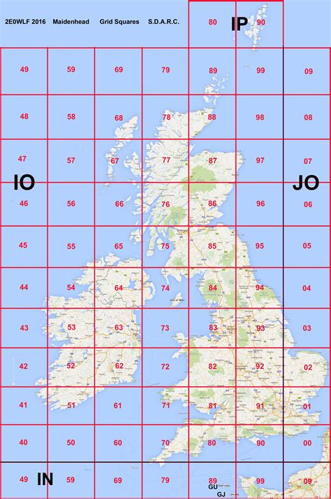 us maidenhead grid map worked all uk ei locators swindon district