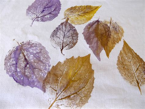 patterns in nature textiles textile arts now printing leaves on fabric