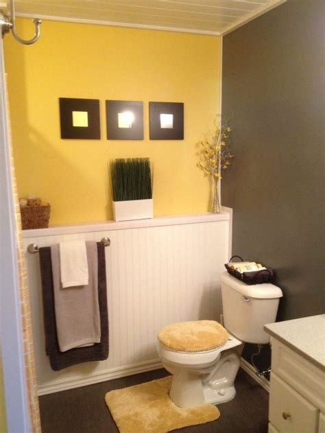 yellow and grey bathroom decorating ideas colorful with grey and yellow bathroom theme line mirror