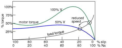 induction motor voltage vs torque tesla polyphase induction motors ac motors
