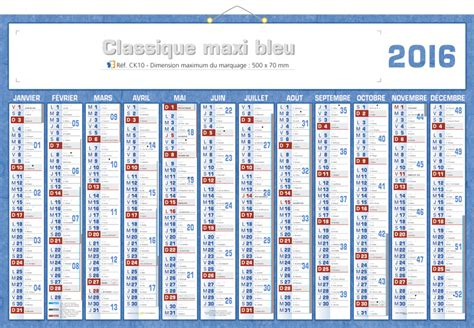 Semaine 9 Calendrier 2015 Calendrier 2016 Image King