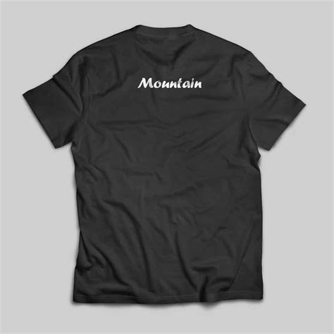 The Tshirt 01 back tshirt mountain 01 shared value exchange