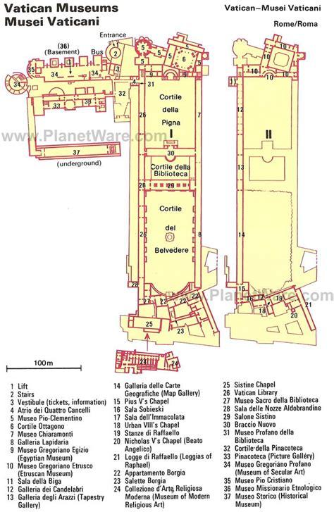 vatican floor plan map of vatican museums planetware vatican vatican