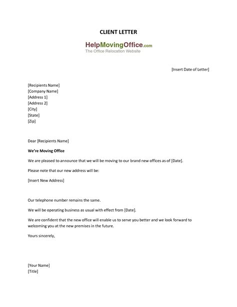 Business Letter Format Email Address office address change letter format letter format 2017