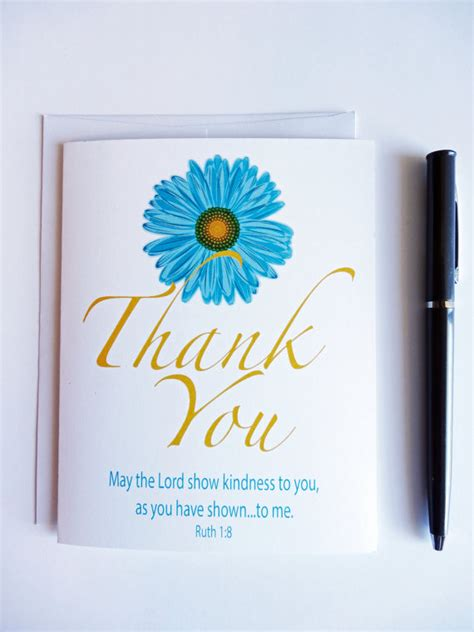 Thank You Letter To Bible Thank You Cards Set Thank You Notes Blank Note Cards
