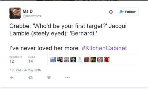 Kitchen Cabinet Malcolm Turnbull Jacqui Lambie Calls Cory Bernardi An A Hole On Kitchen