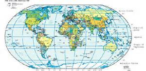 World Map With Longitude And Latitude by Maps World Map With Latitude And Longitude