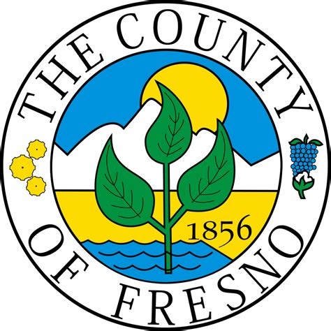 file seal of fresno county california svg wikimedia commons