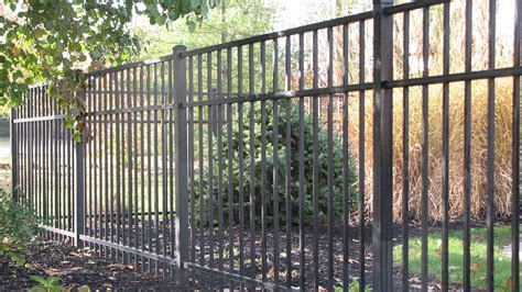Home Depot Decorative Fence by Ship Fencing Residential Aluminum Fence