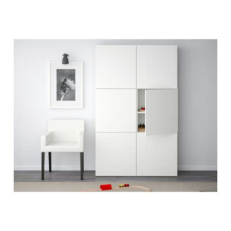 Besta 60x40x192 by Best 197 Storage Combination With Doors Lappviken White