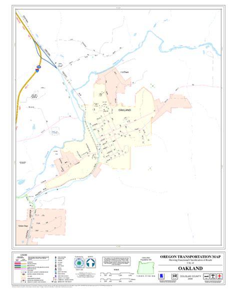 map of oakland oregon oakland oregon road map oakland oregon mappery