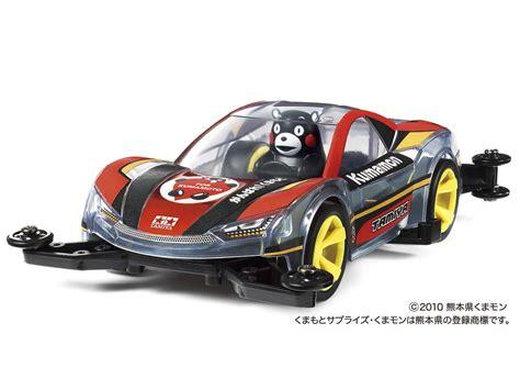 Tamiya 95281 Kumamon Mini 4wd Supporting Kumamoto 1 タミヤ がんばれ 熊本 ミニ四駆 くまモン版 発売
