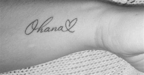 ohana with heart tattoo tattoo ideas pinterest ohana