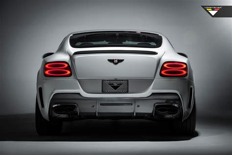 bentley vorsteiner vorsteiner bentley continental gt coupe v8 aero rear