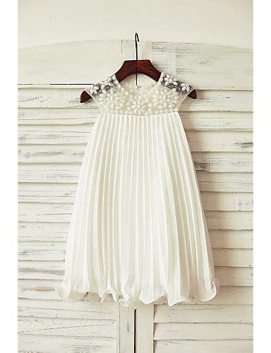 Neana Dress B02 By Zizara sheath knee length flower dress chiffon neck