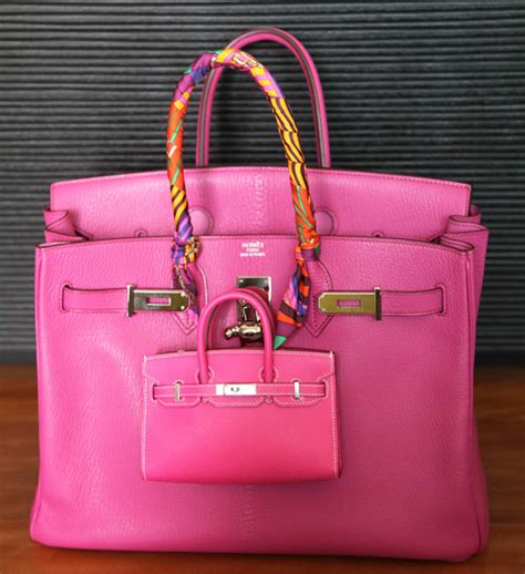 Mini Birkin the attraction of mini handbags
