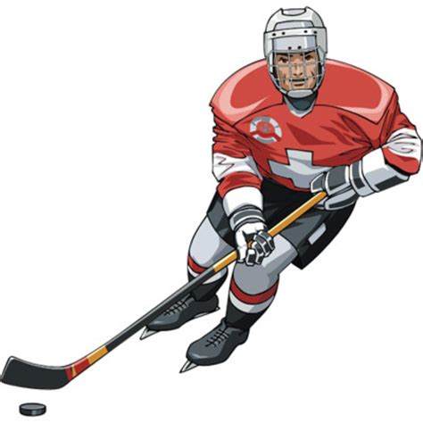 hockey clip hockey player free images at clker vector clip