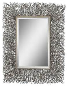 Corbis metal wall art mirror large metal wall art