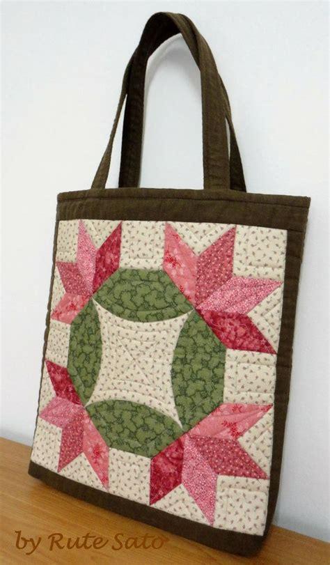 Patchwork Bag Designs - ruth sato techniques bolsas patchwork