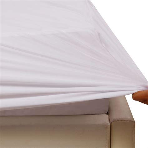 eco terry hypoallergenic waterproof mattress protector bed