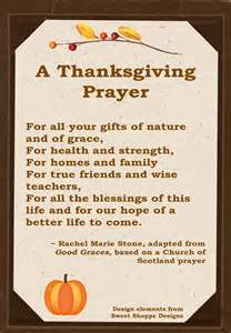thanksgiving blessing pictures a thanksgiving prayer